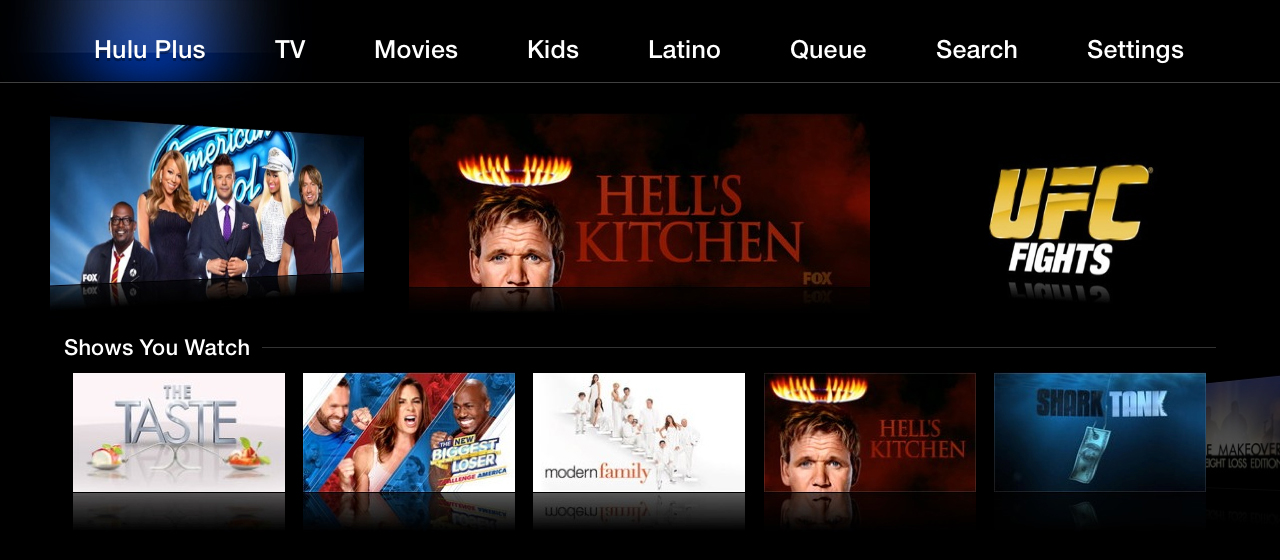 Hulu Redesigns Apple TV App 'From The Ground Up'