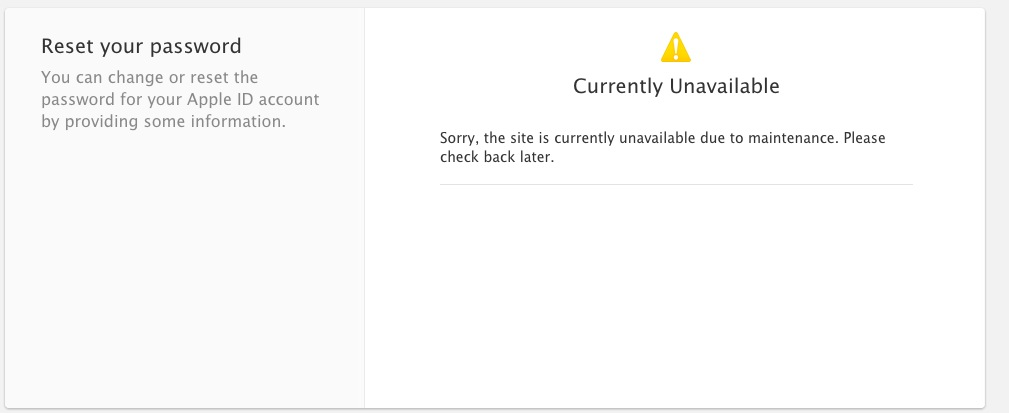 Apple Removes iForgot Page After Report of Issues e65f77b063