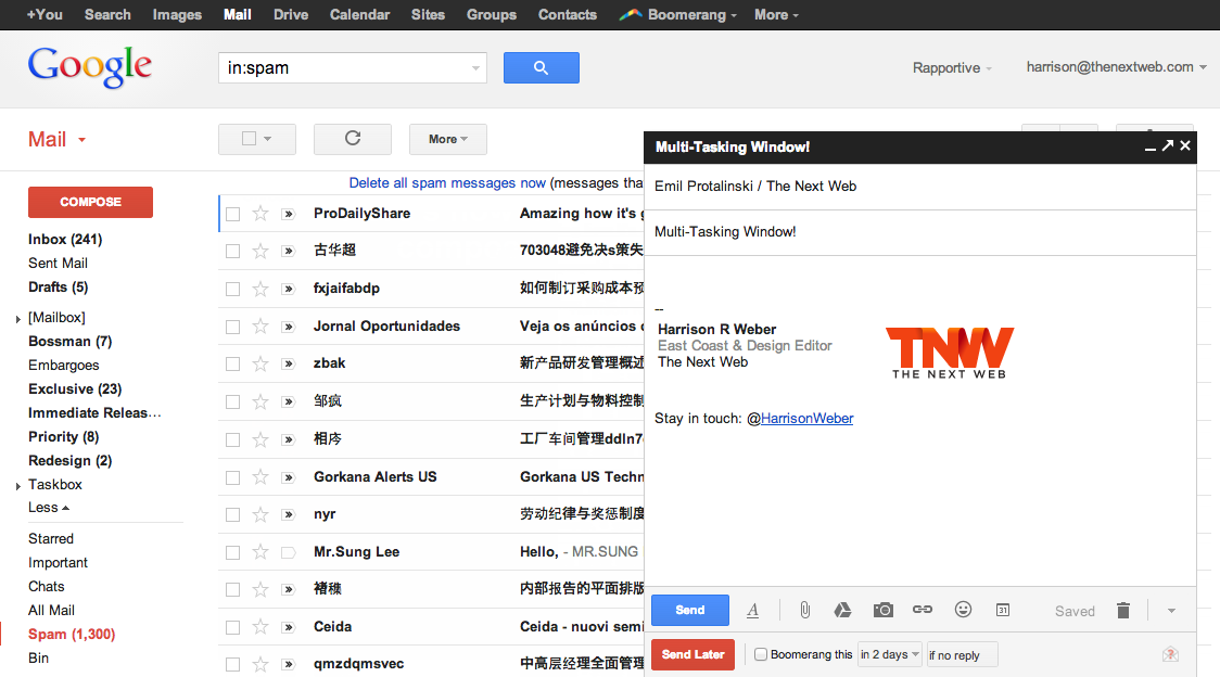 Google Makes Gmail's New Compose Window Default for Everyone