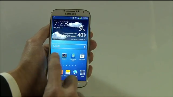 Samsung Galaxy S 4 announced: 5″ 441 ppi screen, 13 mp camera, Android 4.2, 4G LTE, available April ...