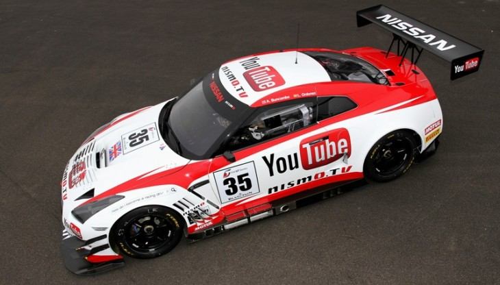 The YouTube Nissan GT-R Nismo GT3