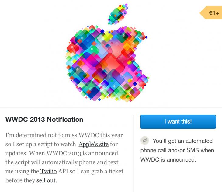 WWDC-notification