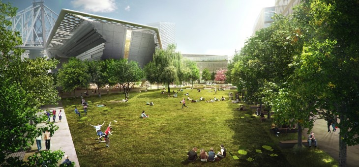 NYC's Cornell Tech campus approved by City Planning Commission for 2014 groundbreaking