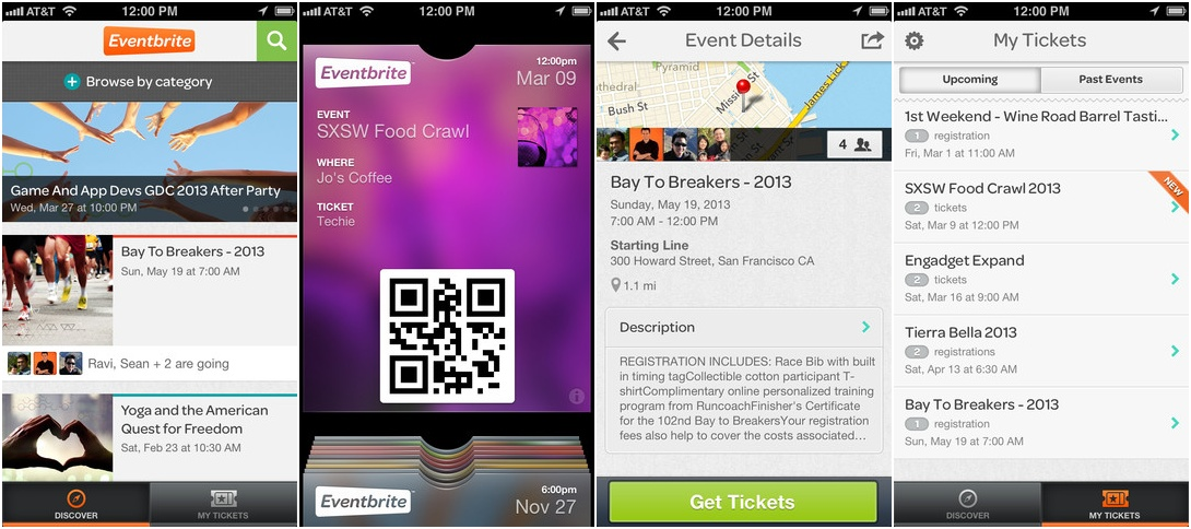Eventbrite Integrates Facebook Events Adds 'Discover View'