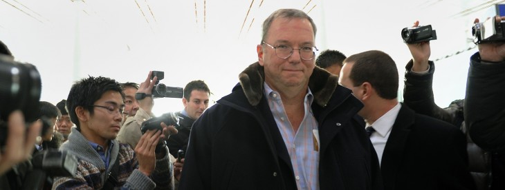 First North Korea, now Google's Eric Schmidt will visit Burma [Updated]