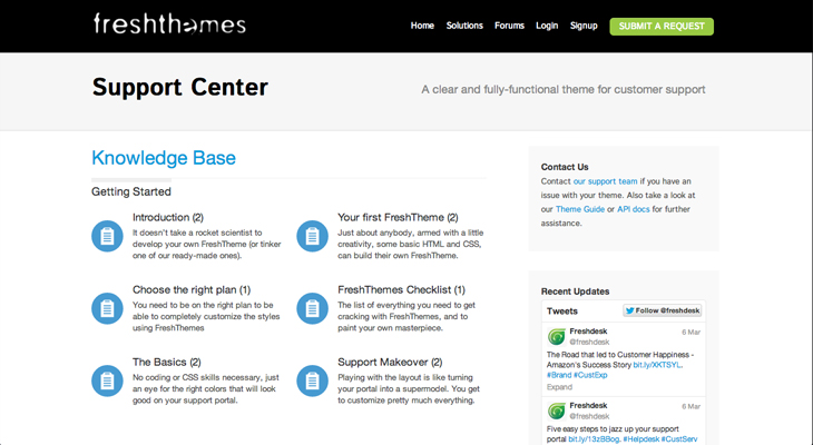 freshthemes1 Freshdesk launches FreshThemes to help businesses customize the design of their customer service tools