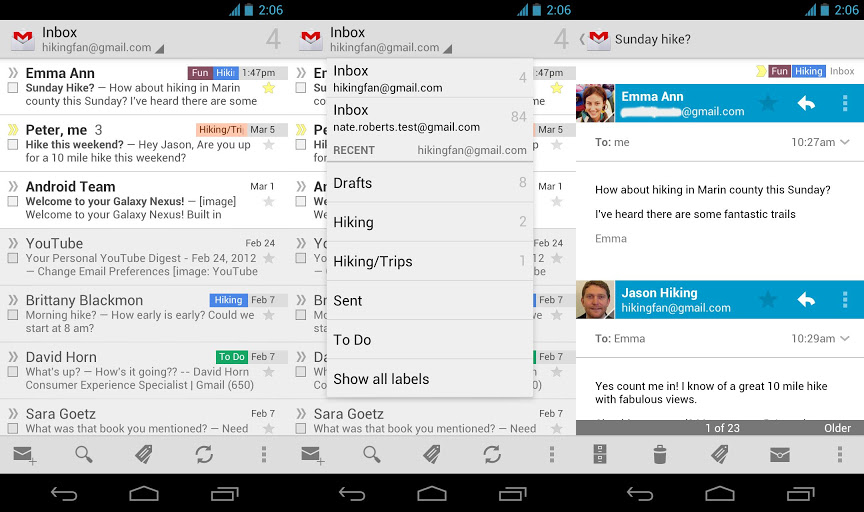 приложение Gmail для андроид скачать - фото 9
