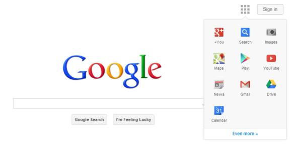 Google New Navbar 2