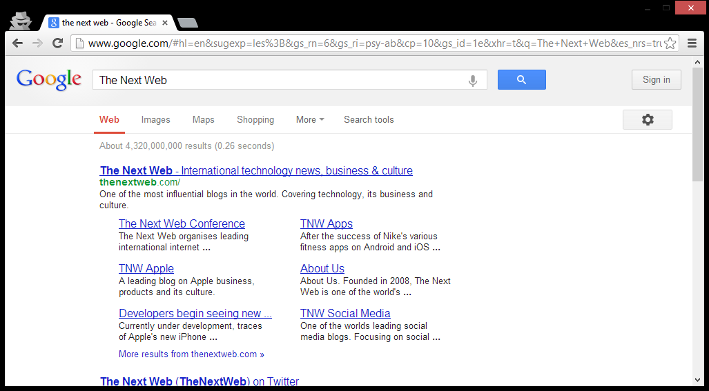 Google Tests Replacing and Removing Navigation Bar on its Sites