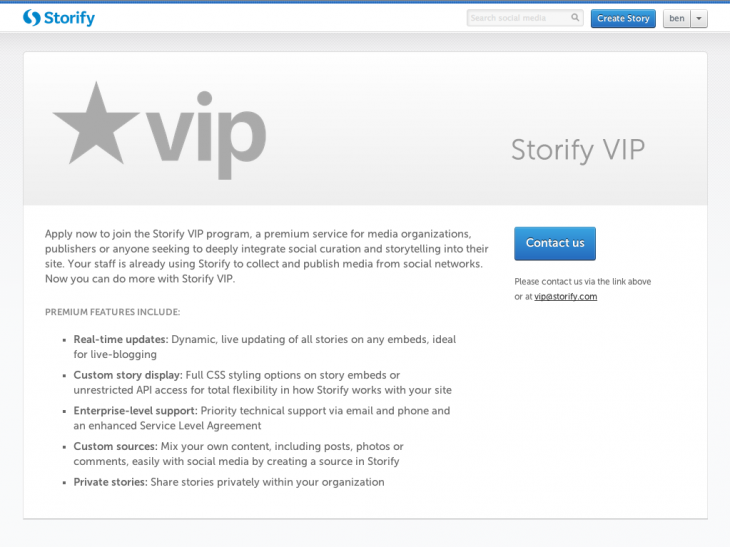 image2 730x547 Storify starts to monetize with VIP, a premium plan for live blogging, custom sources and more