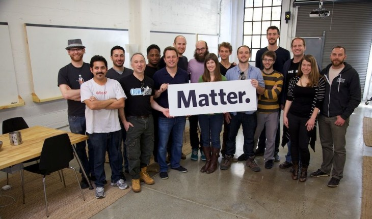 Media accelerator Matter reveals its inaugural class of six startups