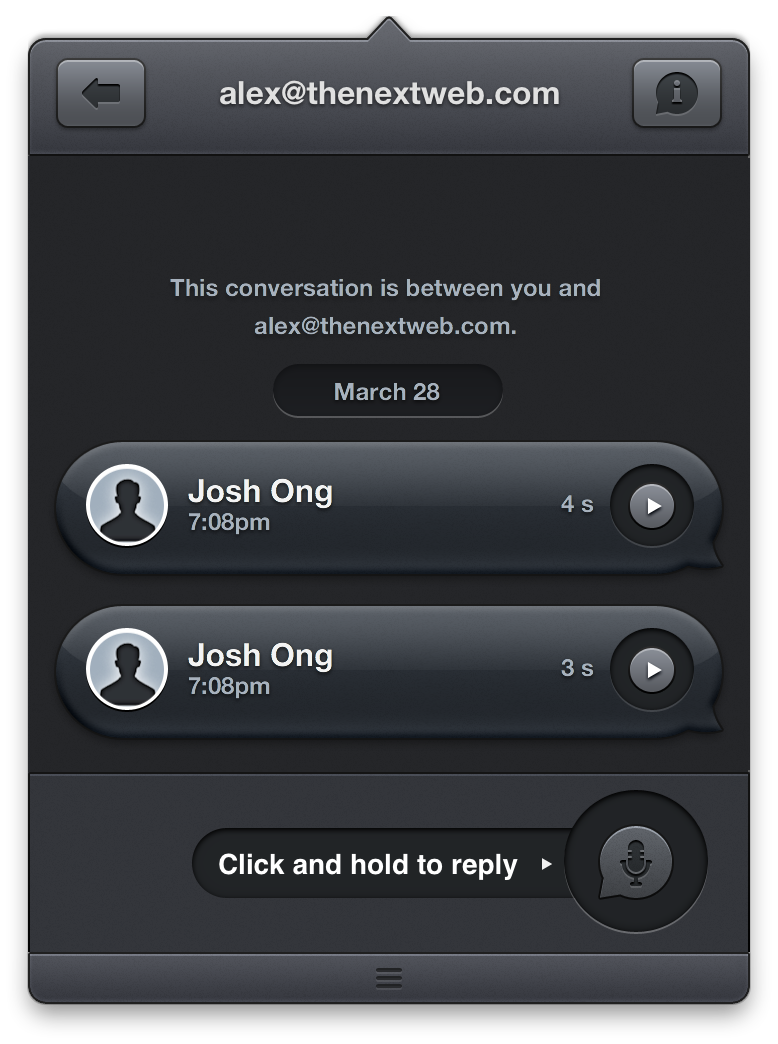 Pling Is a Lightweight Voice Messaging App for iPhone and Mac