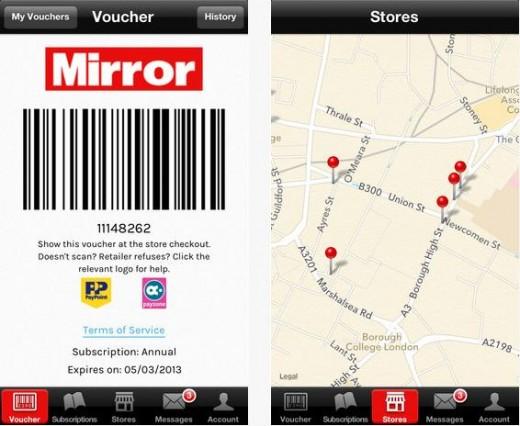 pp2 520x426 Trinity Mirror pilots new PaperPay app, letting UK readers pay for newspapers with their smartphone
