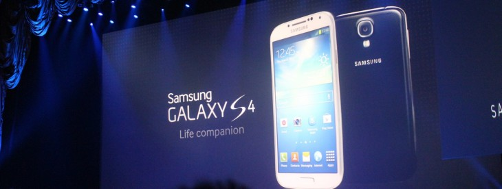 As Samsung launches the Galaxy S4, rivals jostle to shoot down the world's top phone maker