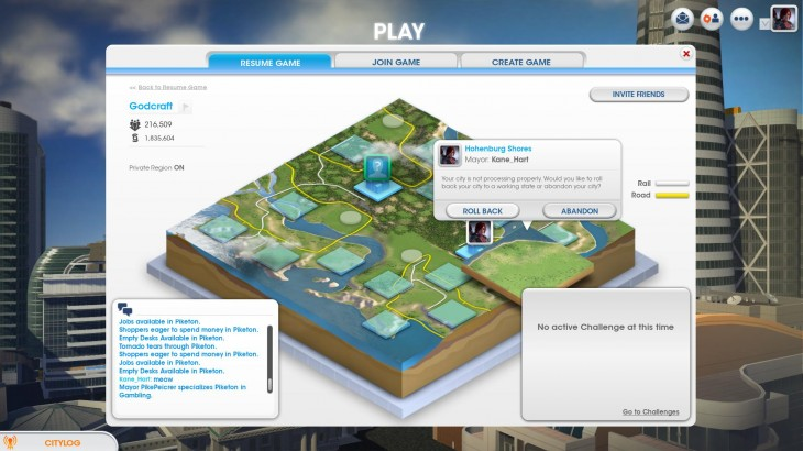 vXCoLJZ 730x410 Simcity launch hindered by server issues, game delays and frustration, users say we told you so