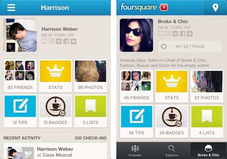 4sq profiles