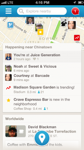 4sq Foursquare readies version 6.0 of its iOS app with improved search and recommendation features