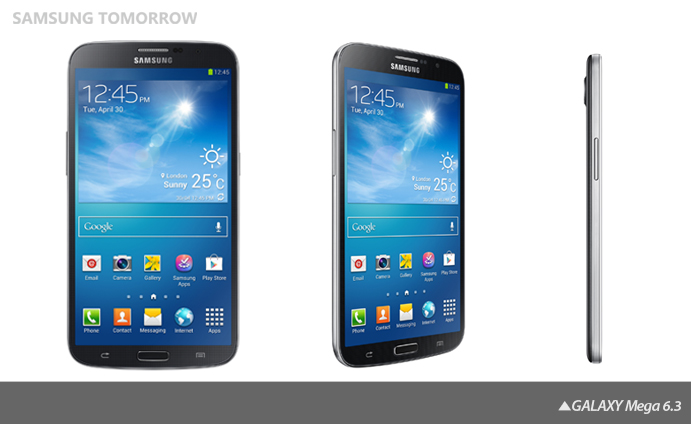 GALAXY Mega 2 Samsung announces the Galaxy Mega, a 6.3 or 5.8 monster Android smartphone launching in May