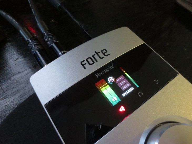 The Focusrite Forte is a stunning USB sound card for the audiophile in all of us