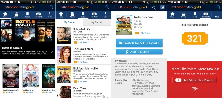 PopcornflixGold Detail 730x324 Screen Media unveils PopcornFlixGOLD, an Android app using Tapjoys ads to stream movies for free