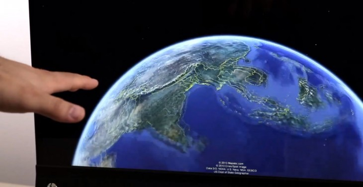 Desktop version of Google Earth 7.1 gets gesture-driven Leap Motion controller support