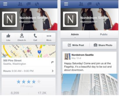 Screenshot 14 Facebook rolls out new action oriented mobile Pages, making it easier for users and brands to interact