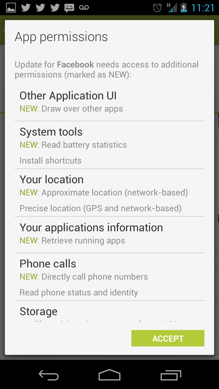 Screenshot 2013 04 13 11 21 10 Facebooks Android app can now retrieve data about what apps you use [Update]
