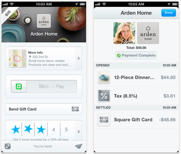 Snap 2013 04 01 at 10.44.32 Square Wallet for iOS gets ability to send gift cards right from your store receipts