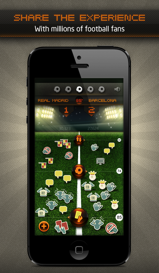 Vubooo iOS Match Flow1 Watching the Champions League semi final tonight? Check out Vubooo for iOS