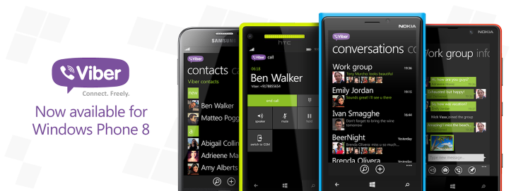 Skype rival Viber gives Windows Phone 8 users a new option for free calls and messages