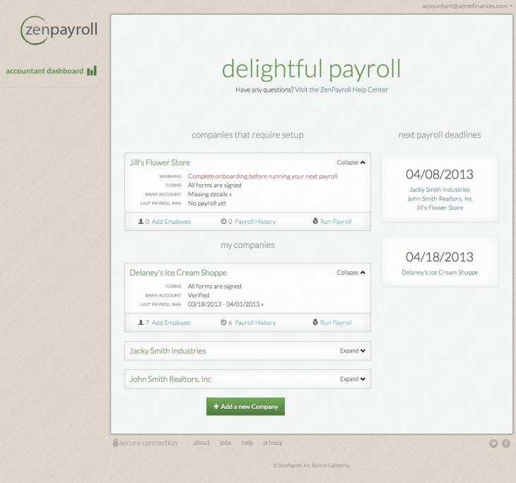 ZenPayroll-accountant-dashboard