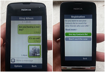 asha1 horz Asian messaging service Line focuses on emerging markets with app for Nokias Asha phones