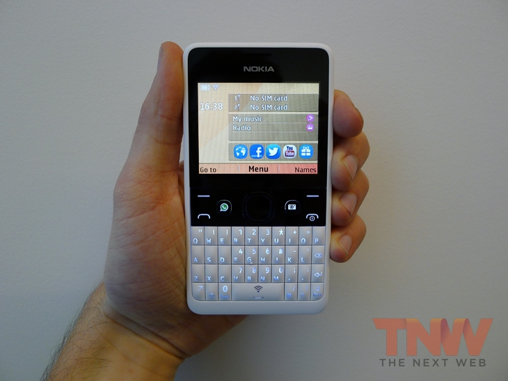 Nokia Xpress Now is a Web app that curates and serves popular content to Asha phones