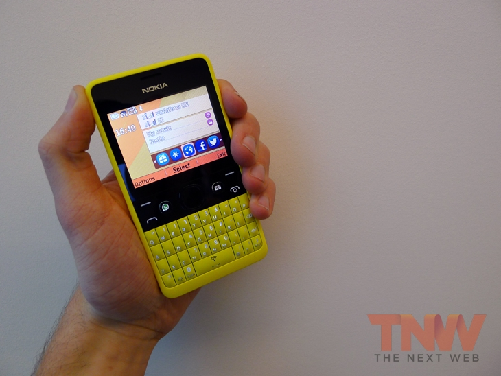 Nokia Unveils The Asha 210 With Dedicated WhatsApp Button