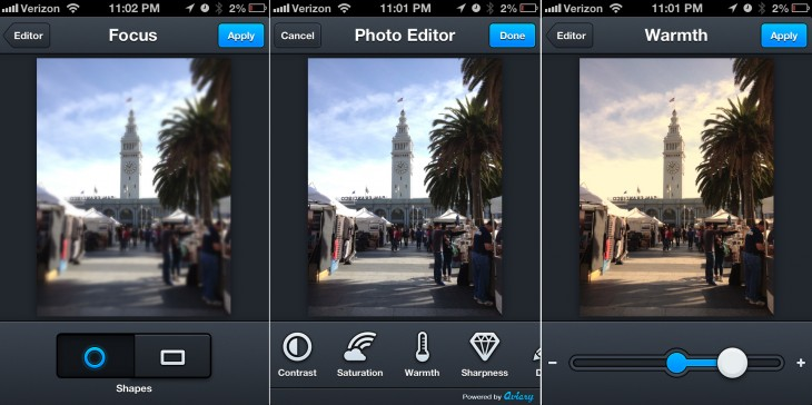 Aviary's Photo Editor v2.0 hits the Apple App Store with new tools, faster blurring, saving, more