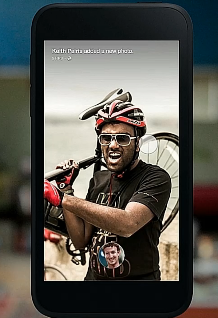 Facebook introduces Home, a launcher for Android devices that puts people ahead of apps