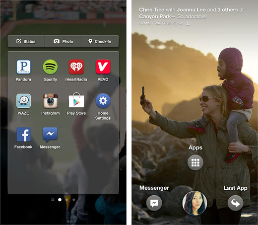 fb3 Facebook Home arrives on Google Play, but only for US users on select devices