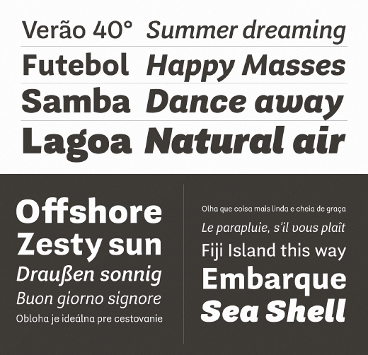 guanabara 23 Of the most beautiful typeface designs released last month