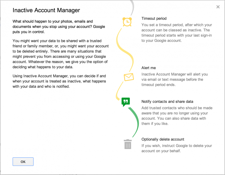 innactive 730x567 Google launches an Inactive Account Manager to help users plan their digital afterlife