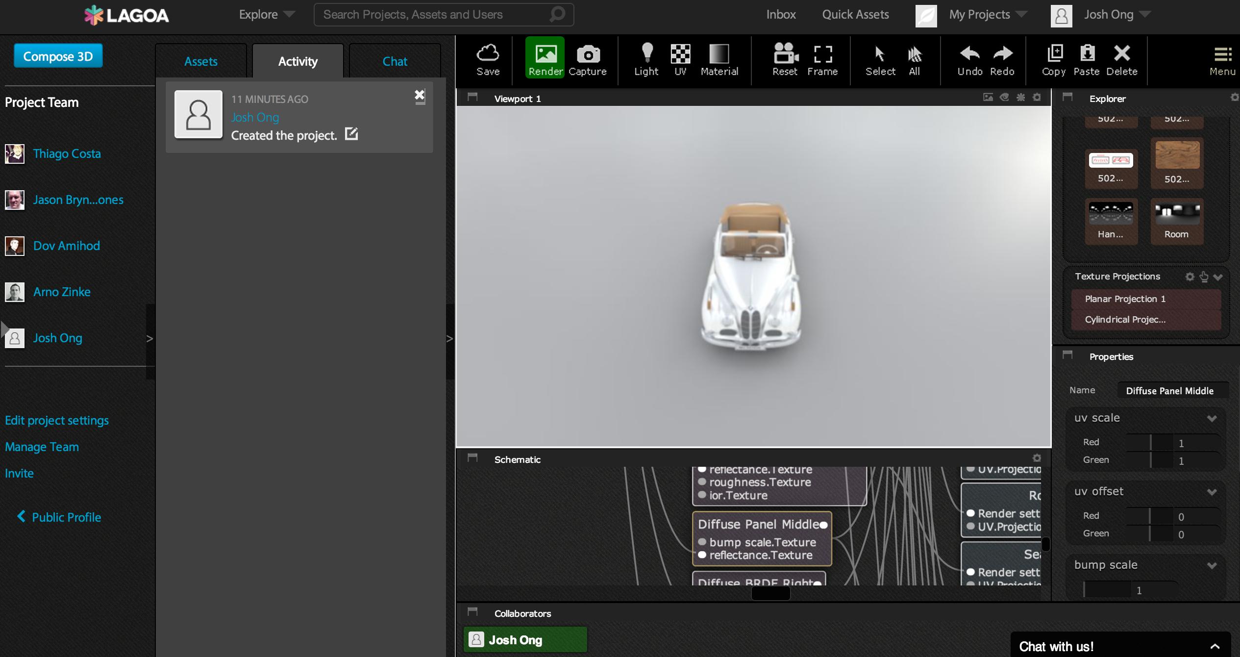lagoa launches an impressive browser based 3d rendering platform. Black Bedroom Furniture Sets. Home Design Ideas