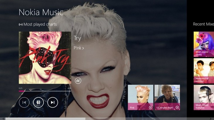 nokia1 730x410 Nokia launches its Music+ subscription service on Windows 8 and Windows RT