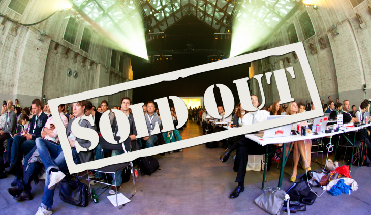 The Next Web Conference Europe has sold out!