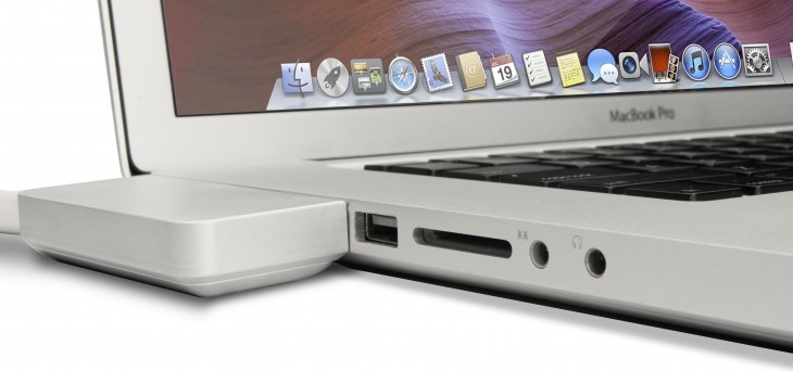 The ZenDock Kickstarter project offers an elegant way to dock your MacBook Pro