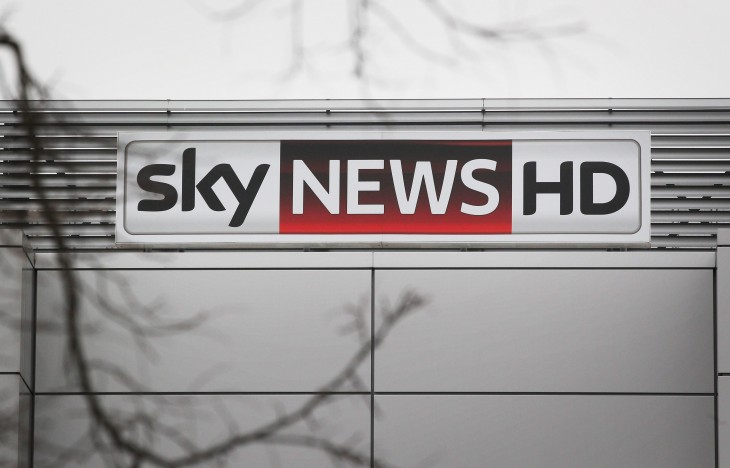 Sky News launches catch-up TV service for Sky+ HD customers