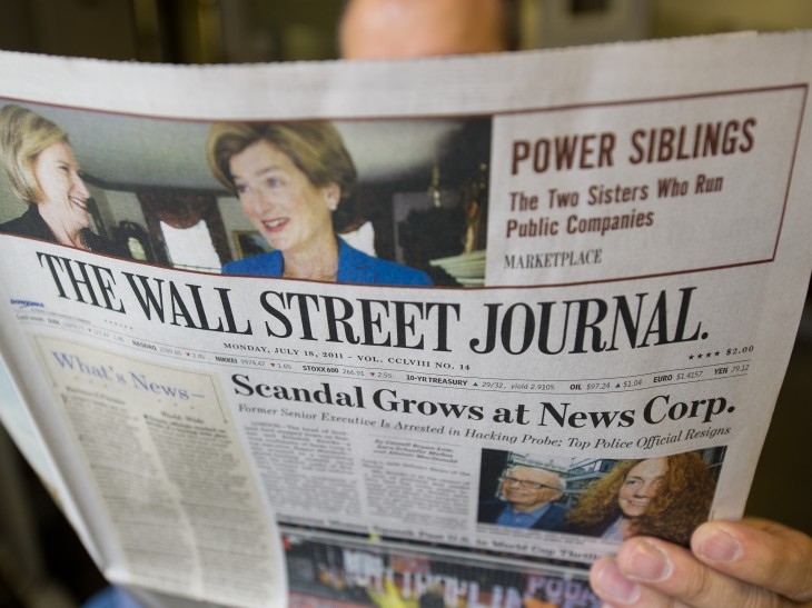 News Corporation takes on LinkedIn with WSJ Profile, a social network for The Wall Street Journal