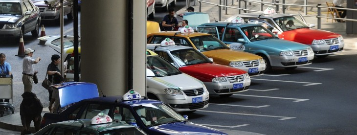 Uber slashes the price of its private car hire service in Shanghai, China by 30%