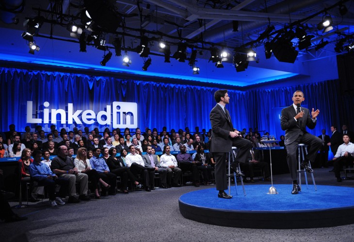 LinkedIn gives users the ability to share photos, documents and presentations in their status updates ...