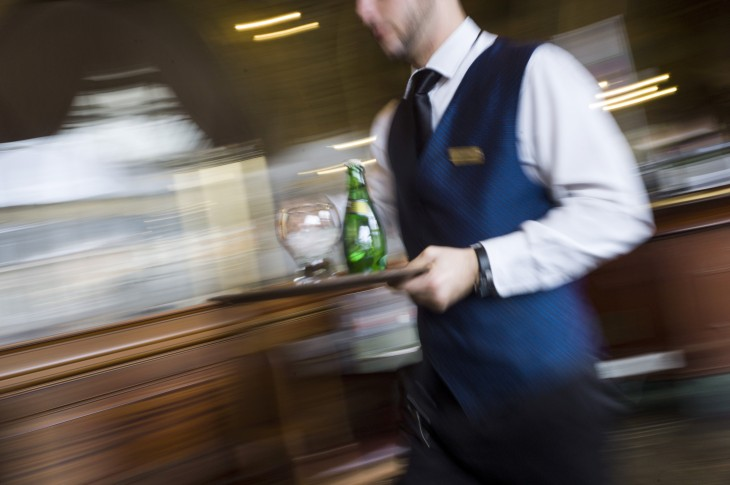 Everything I know about entrepreneurship, I learned waitering