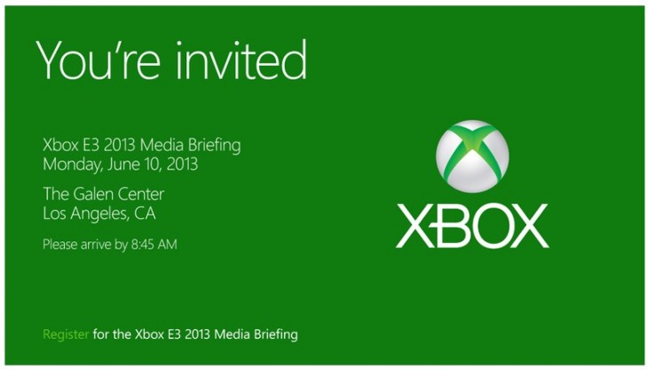 2013 05 01 10h12 03 730x417 Microsoft releases invites for its pre E3 Xbox press event on June 10