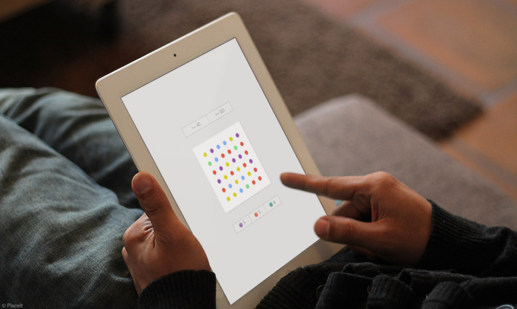 Dots iPad 1 attribution 730x437 Highly addictive game Dots lands on the iPad with multiplayer mode, as it notches 250M games played